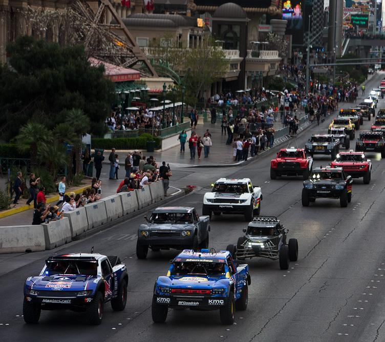 The Mint 400 4 Wheel Parts Vehicle Parade 2015