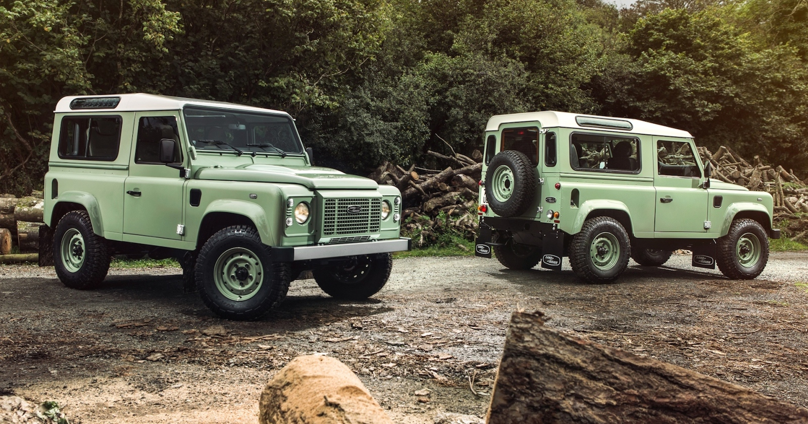 2015 Land Rover Defender Heritage Limited Edition.